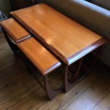 1970s G plan Teak Coffee Table Nest Long Table