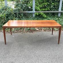 1960s Danish Rosewood Long Low Coffee Table