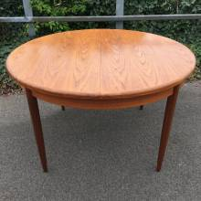 G Plan Circular Extending Dining Table