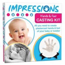 Baby Impressions Footprint Casting Kit