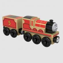 James - Thomas The Tank Engine Wooden Railway Train
