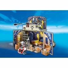 My Secret Knights' Treasure Room Play Box Playmobil 6156