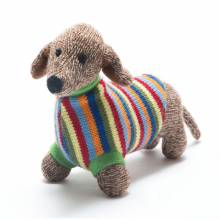 Dachshund Dog - Crochet Knitted Soft Toy