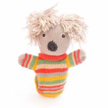 Koala - Hand Knitted Glove Puppet Organic Cotton