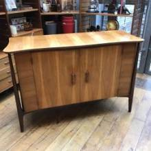 1960s Everest Highboy Sideboard