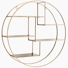 Large Gold Circular Shelves - due in February