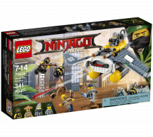 LEGO® Ninjago Movie Manta Ray Bomber 70609 Age 7-14