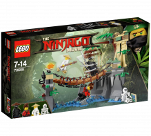 LEGO® Ninjago Movie Master Falls 70608 Age 7-14