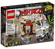 LEGO® Ninjago Movie City Chase 70607 Age 7-14