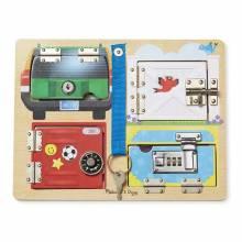 Lock & Latch Board By Melissa & Doug 3+