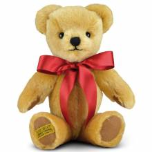 "London Gold Teddy Bear 10"" Merrythought Handmade UK"
