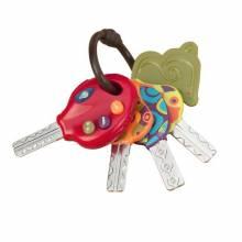 LucKeys Toy Car Keys By B. Toys 18m+