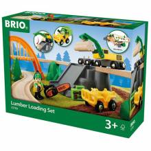 Lumber Loading Set BRIO® Wooden Railway3+