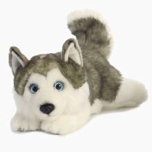 Lying Husky Dog Soft Toy 0+