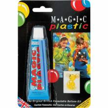 Magic Plastic Balloon Paste.