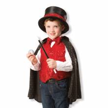 back 2018Magician Fancy Dress Role Play Costume Set
