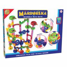 Marbureka Marble Run 105 Piece Set