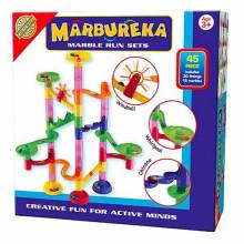 Marbureka Marble Run 45 Piece Set