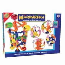 Marbureka Marble Run 74 Piece Set