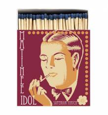 Box Of Safety Matches MATINEE IDOL ( Square )
