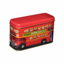 Red London Bus Tin With 10 English Breakfast Teabags