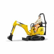 Bruder JCB Micro Digger and Workman Figure