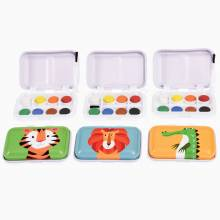 Colourful Creatures Mini Paint Set In Tin