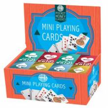 Mini Playing Card Pack By House Of Marbles