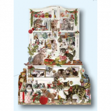 Mischievous Chrismas Cats Advent Calendar