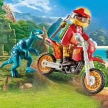 Motorcross Bike With Raptor Playmobil 9431