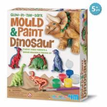 Mould & Paint Dinosaurs Art Kit 5+