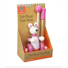 Mouse Push Along Toy 12mth+