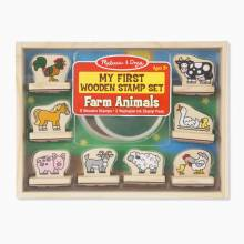 Farm Animals - My First Stamp Set By Melissa & Doug 3+