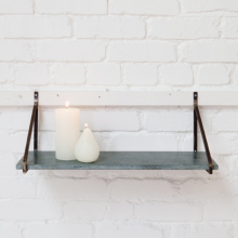Myna Marble Shelf - Green