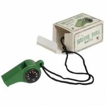 Nature Trail Whistle With Compass