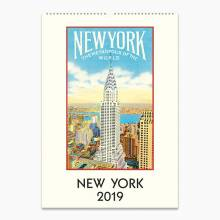 New York Wall Calendar by Cavallini