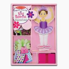 Nina Ballerina Magnetic Dress-Up Doll Melissa + Doug