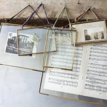 Kiko Antique Brass Frame - Landscape 4x6