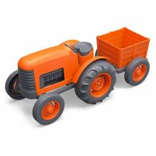 Orange Tractor By Green Toys - Recycled Plastic 1+