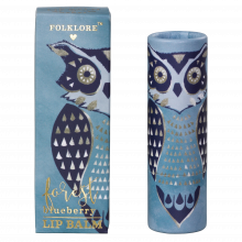 Folklore Owl Lip Balm Forest Blueberry