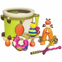 Drum Parum Pum Pum Musical Toy by Baby B