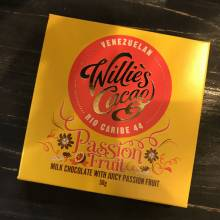 Passion Fruit In Milk Chocolate 50g Willie's Cacao