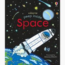 Peep Inside Space - Board Book