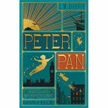Peter Pan By J.M. Barrie Illustrated Hardback Book