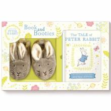 Peter Rabbit Book And Booties Set