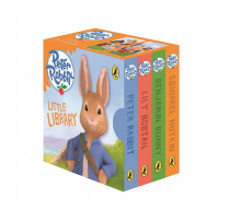 Peter Rabbit Litte Library Book Set - Film Edition