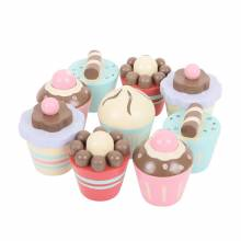 Petit Fours Box Of Cakes Wooden Play Food