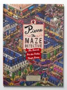 Pierre The Maze Detective Hardback Book