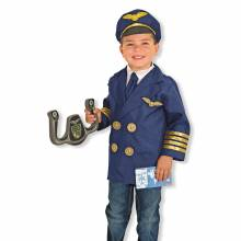 BACK MARCH 2018 Pilot Fancy Dress Role Play Costume Set
