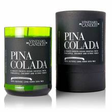 Pina Colada Wine Bottle Candle by Vineyard Candles